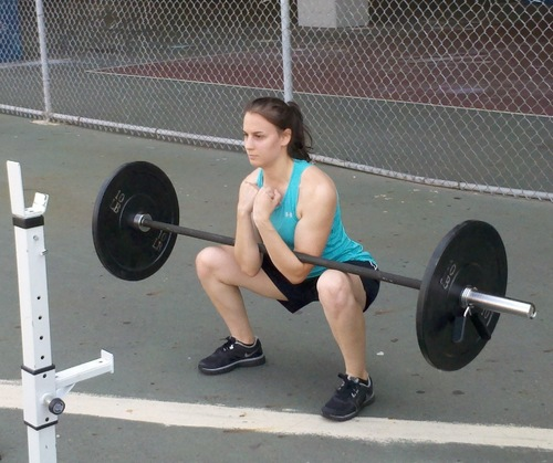 Zercher Squat example