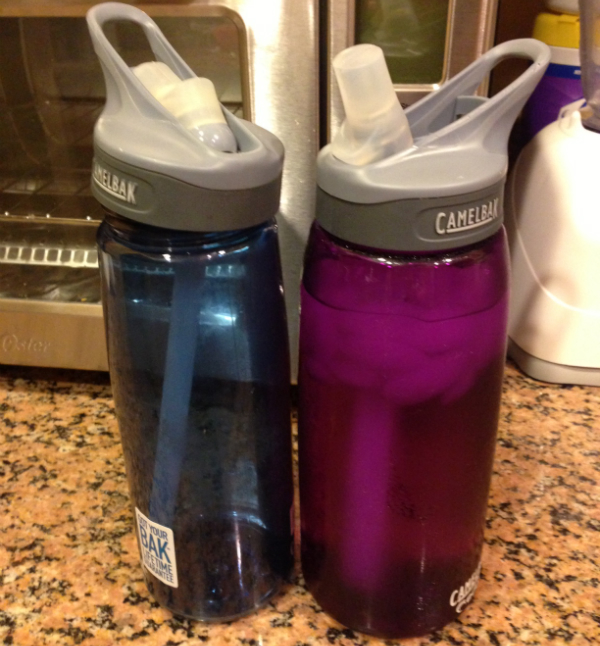 my water bottles