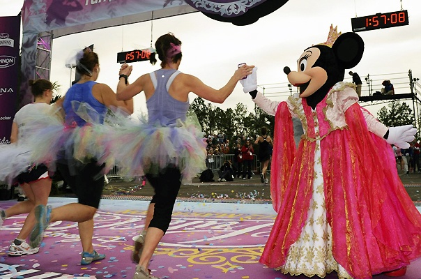 Rundisney Princess Half FInish Line
