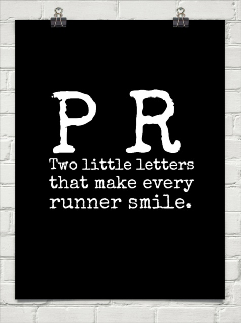 running pr quote