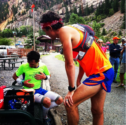 Scott Jurek Pacing at Hardrock 100
