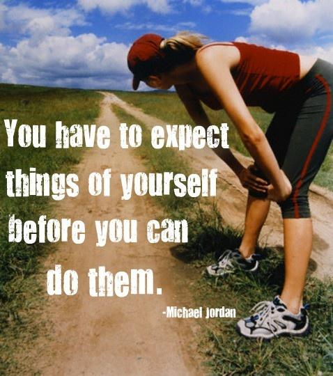 Expect things of yourself