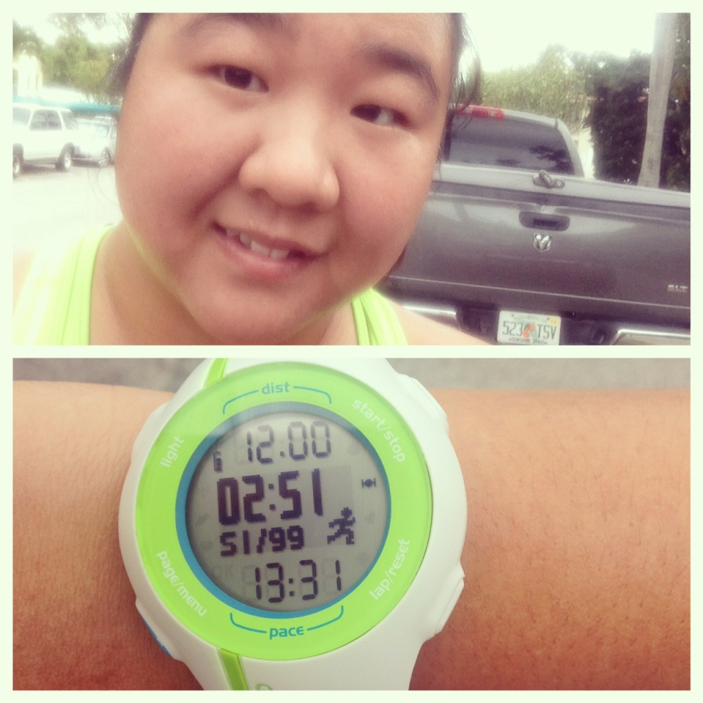 Kristina 12 mile run