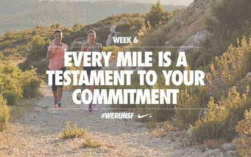 Every mile is a testament to your commitment