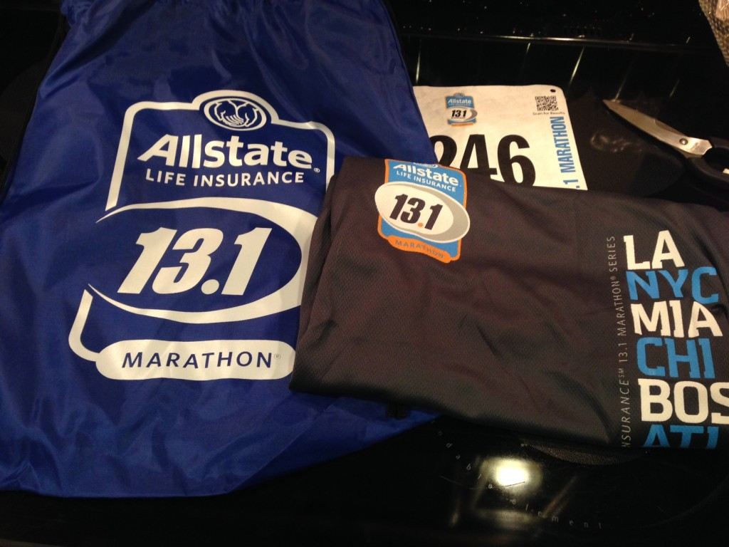 packet for fort lauderdale half marathon