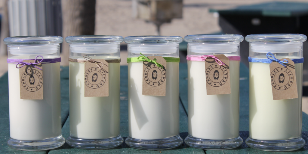 Lilypad Candles Spring Collection 2014