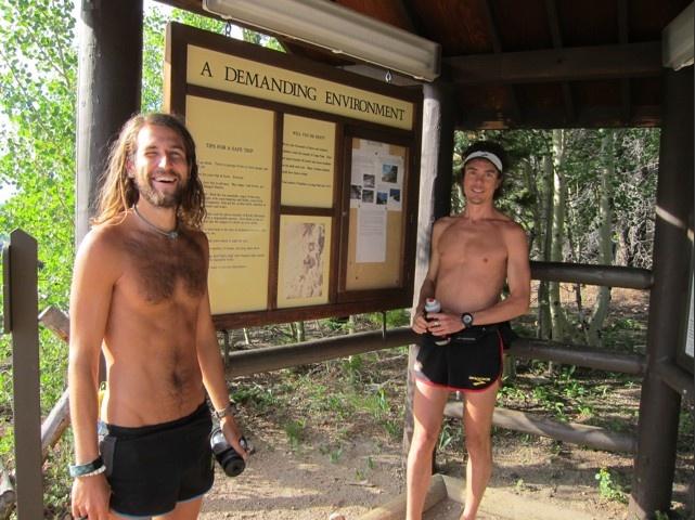 Scott Jurek and Anton Krupicka