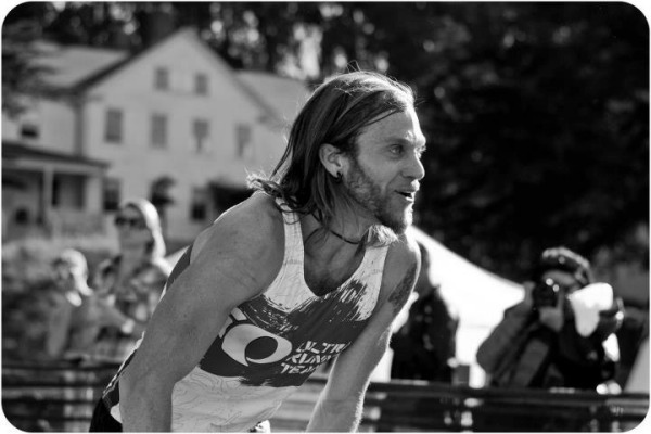 Timothy Olson at the 2011 TNF 50. Photo: Brett Rivers
