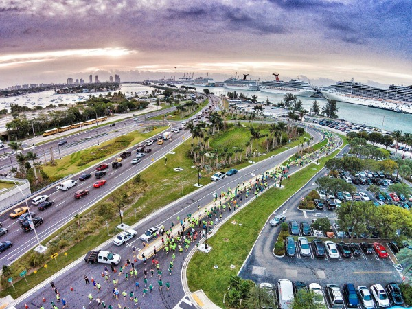 Photo of the 2015 Miami Marathon & Half